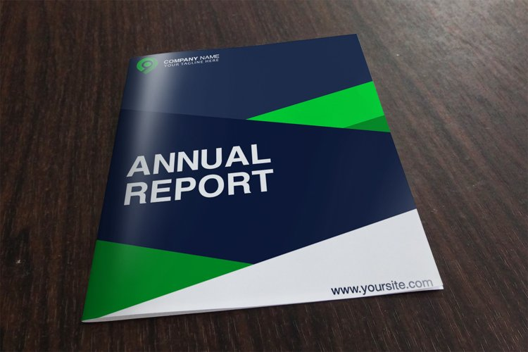 8 Cover Annual Report example image 1
