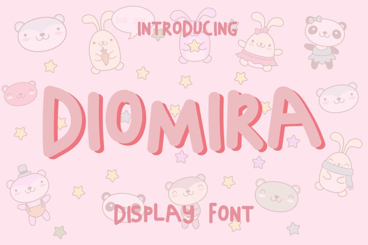 Diomira Display Font example image 1