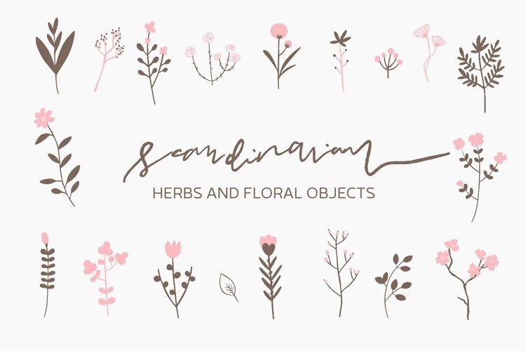 Scandinavian - Herbs and Flowers example image 1