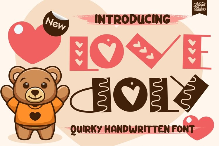 Love Doly - Quirky Display Font example image 1