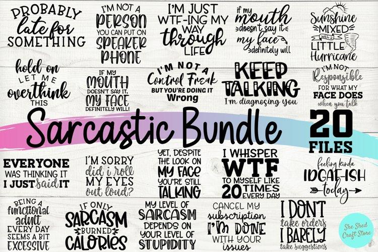 Sarcastic SVG Bundle, Funny SVG Cut Files, Shirt Bundle