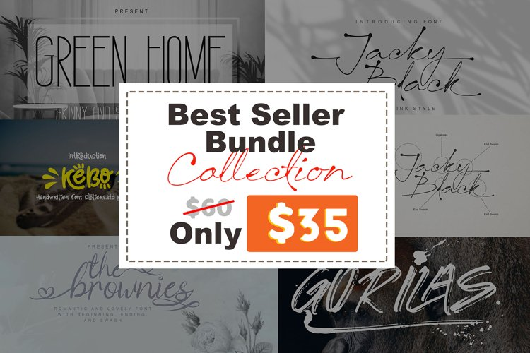 5 Best Sellers Bundles Collection Vol. 1 Only $35