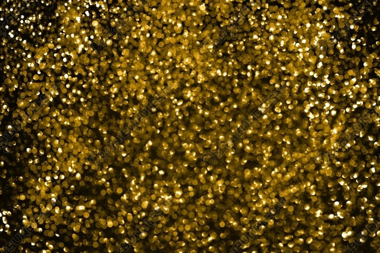 Abstract Fortuna gold bokeh defocus glitter blur background. example image 1