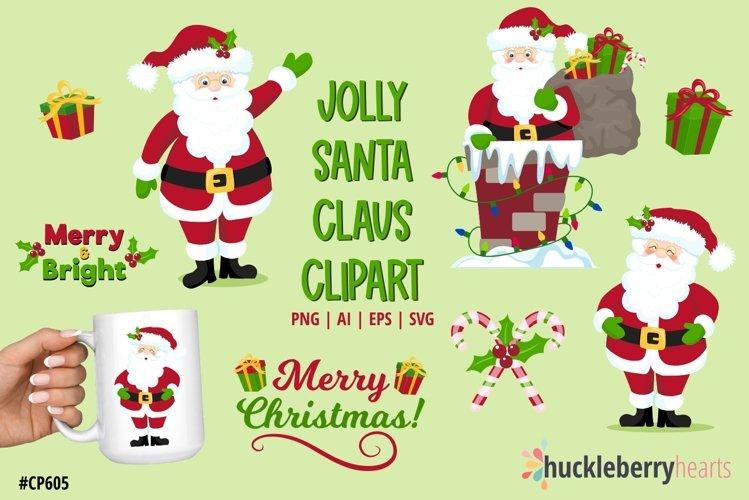 Jolly Santa Clipart