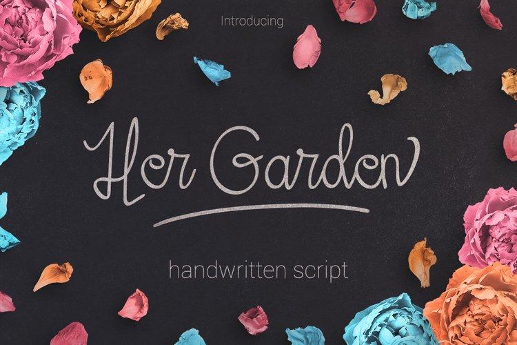 Her Garden example image 1