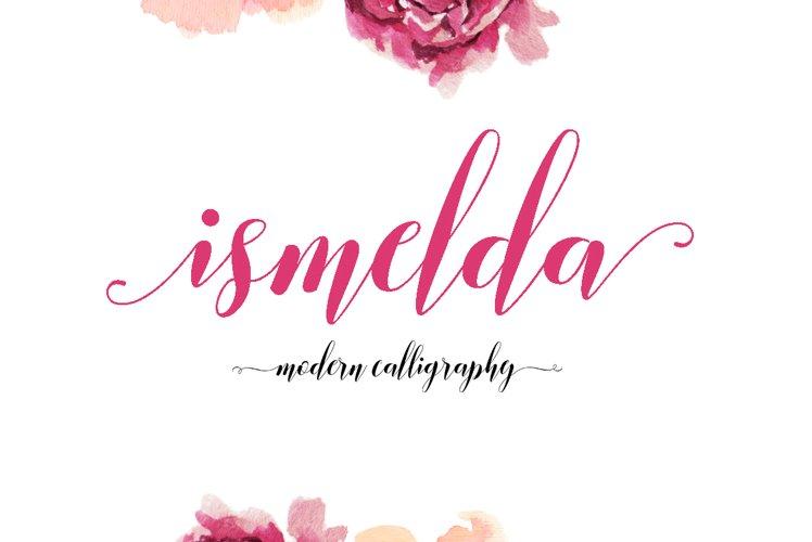 Ismelda Script example image 1