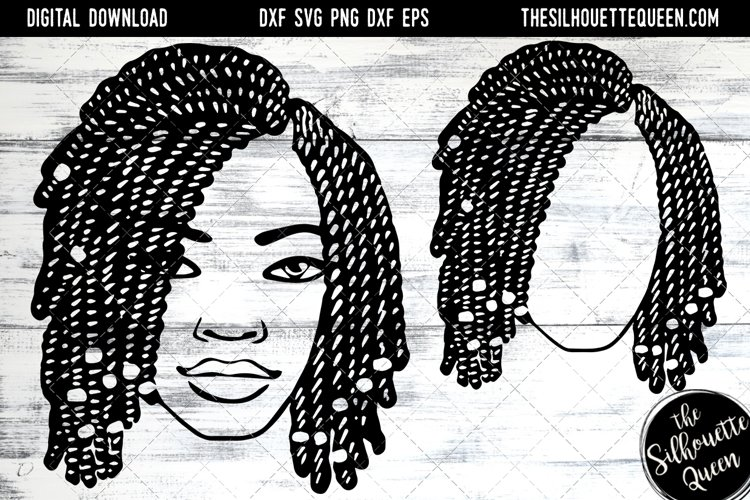 Afro Hair - Short Bob Twist Braids example image 1