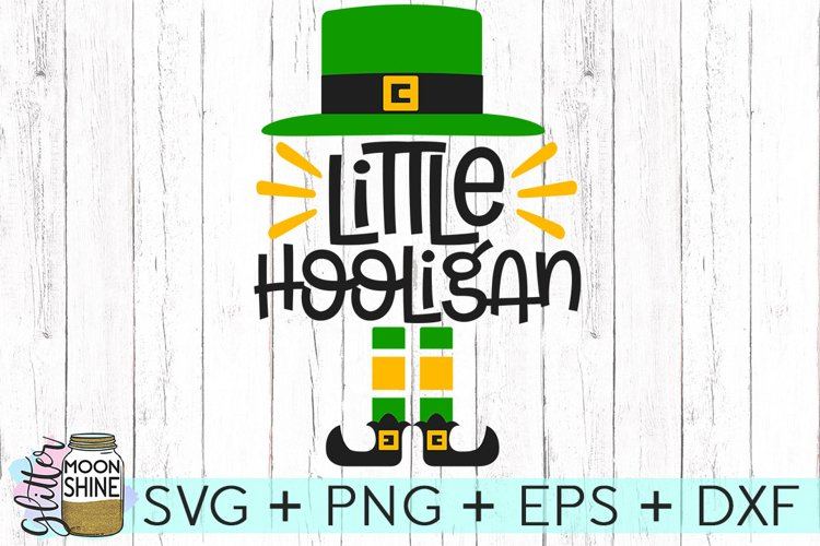 Little Hooligan SVG DXF PNG EPS Cutting Files