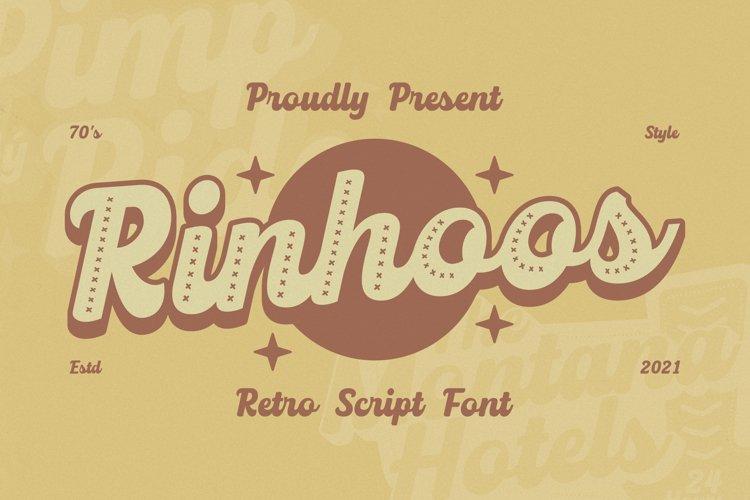 Rinhoos Font example image 1