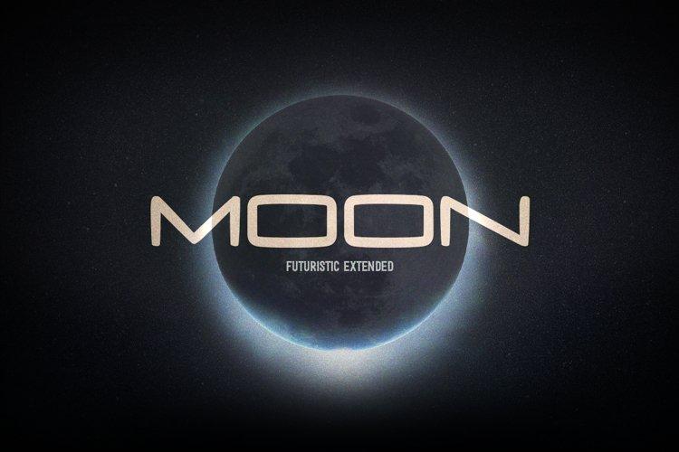 Moon Futuristic Hand example image 1