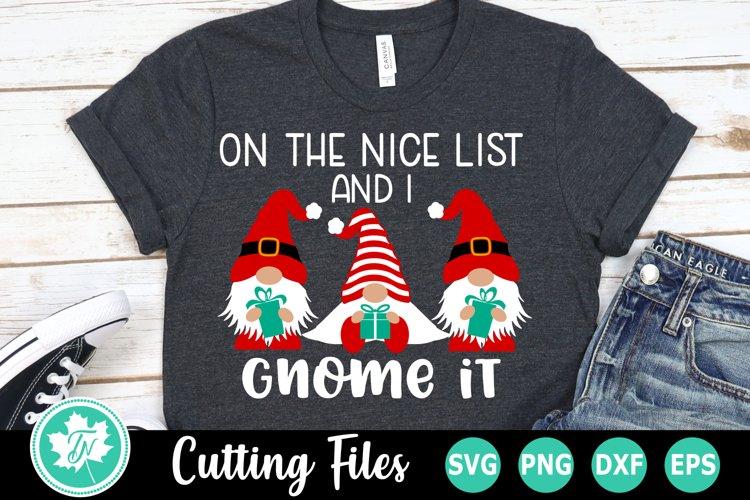 Christmas SVG | Gnome SVG | Christmas Gnome SVG example image 1