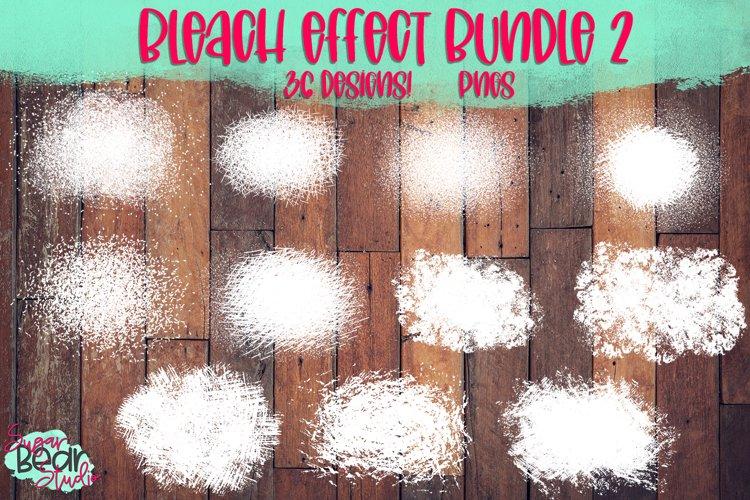 Bleach Effect Bundle 2 - 36 PNGs For Sublimation Mockups