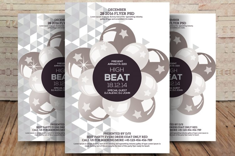 High Beat Flyer example image 1