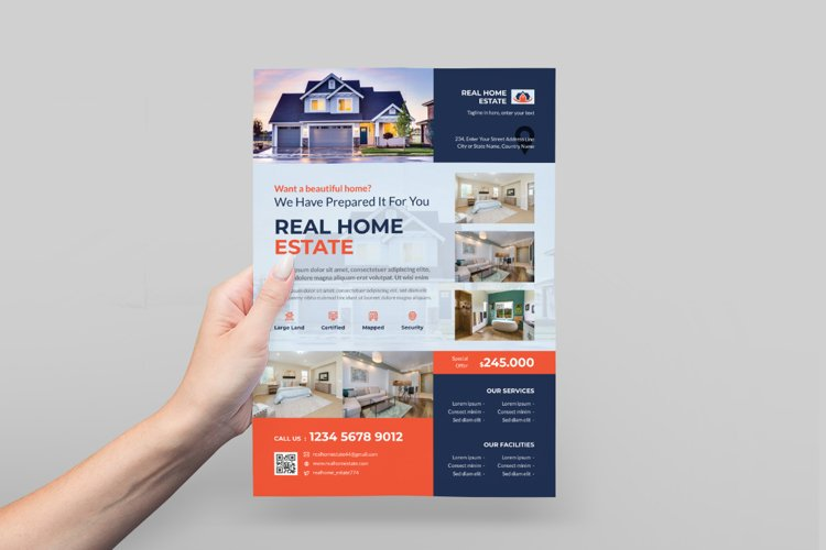 Home Property Sale Flyer Design example image 1