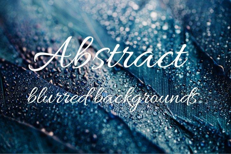 7 Blurred Shiny Abstract textures. Macro dark blue backgroun
