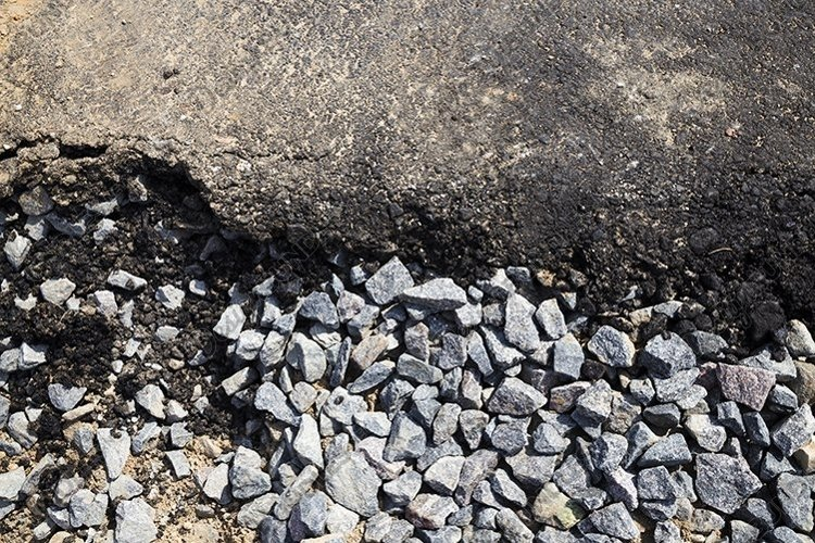 layer of asphalt example image 1