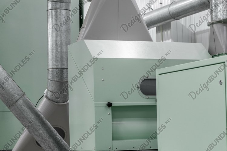 Pipe system and production equipment in the factory example image 1