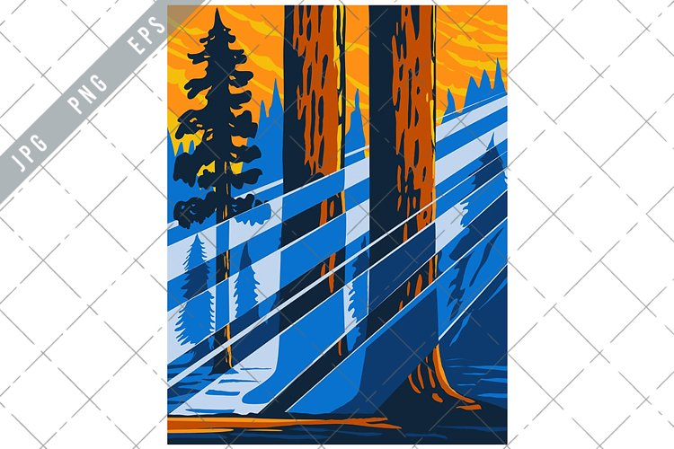 The Giant Sequoia National Monument WPA example image 1