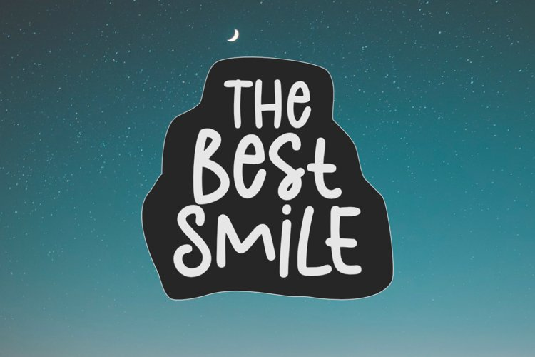 The Best Smile - A Cute Handwritten Font example image 1