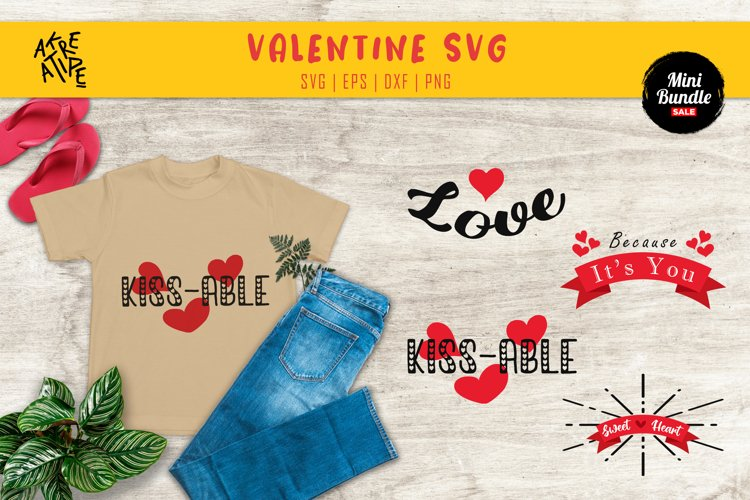 Valentine's SVG Bundle   SVG Bundle example image 1