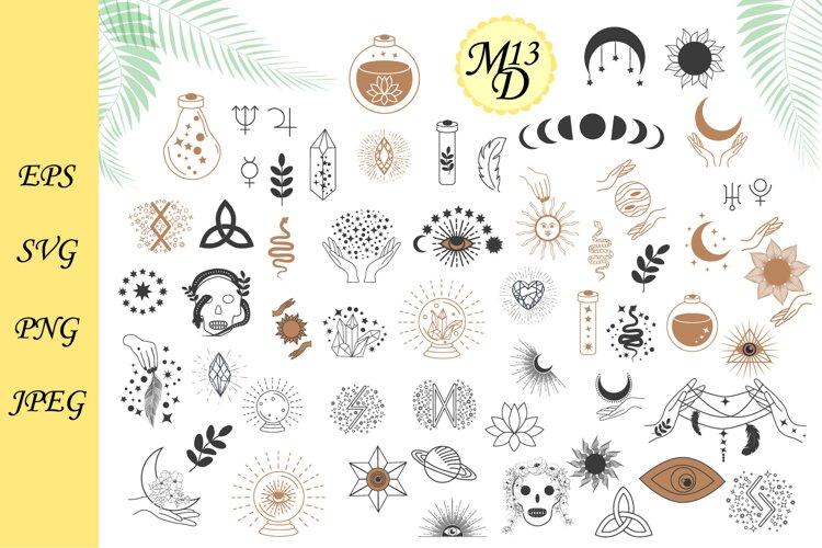 57 Magic symbols of the witch