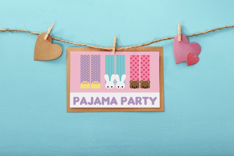 Pajama Party SVG Design example image 1