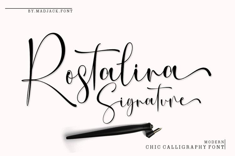 Rostalina Signature example image 1