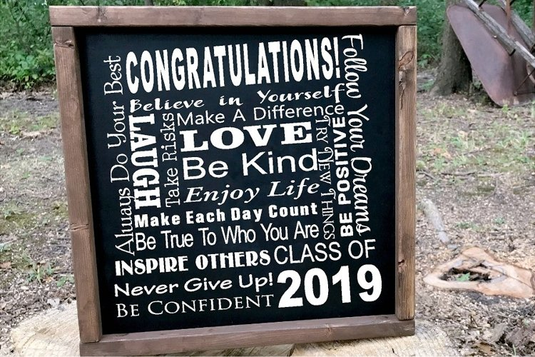 Senior 2019 Class of 2019 SUBWAY ART SVG Graduation