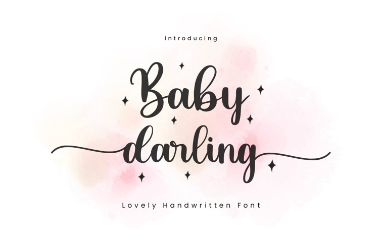 Baby Darling Font example image 1