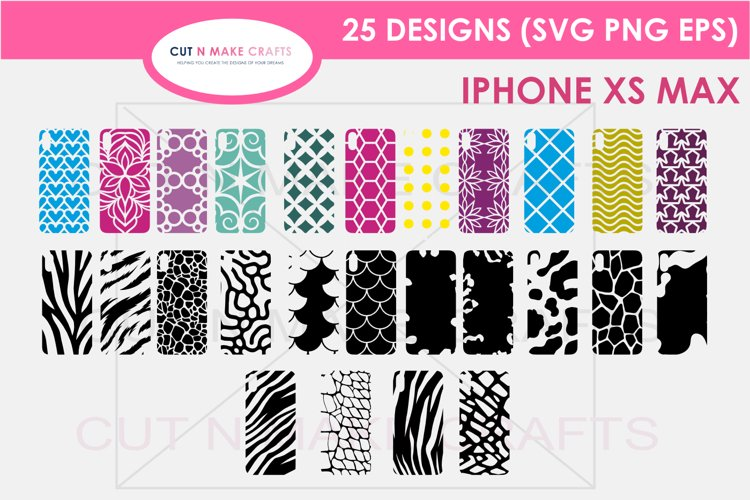 26 iPhone XS Max SVG Designs| Phone Case Decals example image 1
