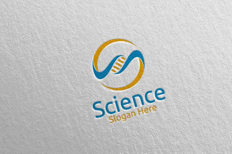 Science and Research Lab Logo Design 22 example image 1