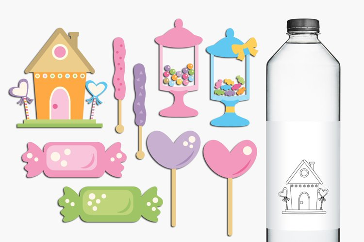 Candy store illustrations example image 1