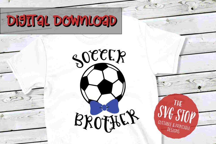 Soccer Brother -SVG, PNG, DXF