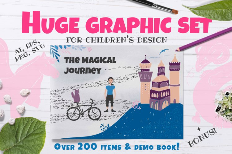 The Magical Journey - graphic set