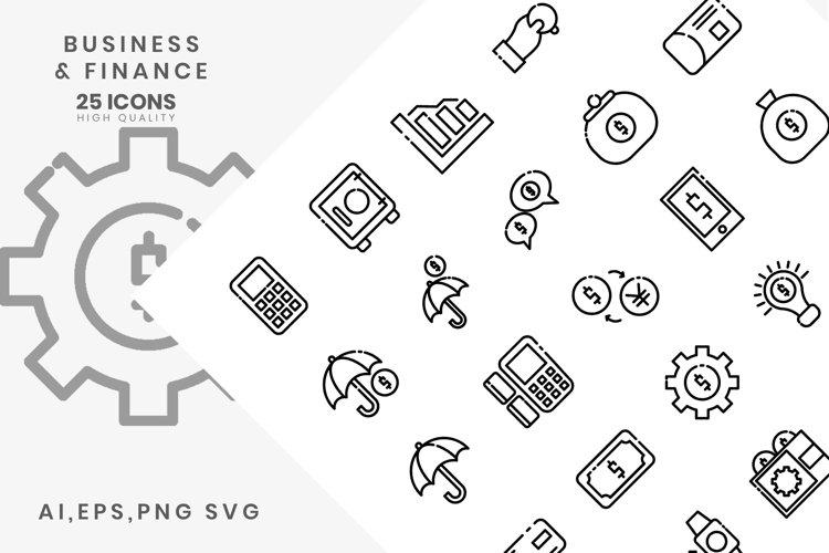 Download Business Finance Vol Ii 720794 Icons Design Bundles