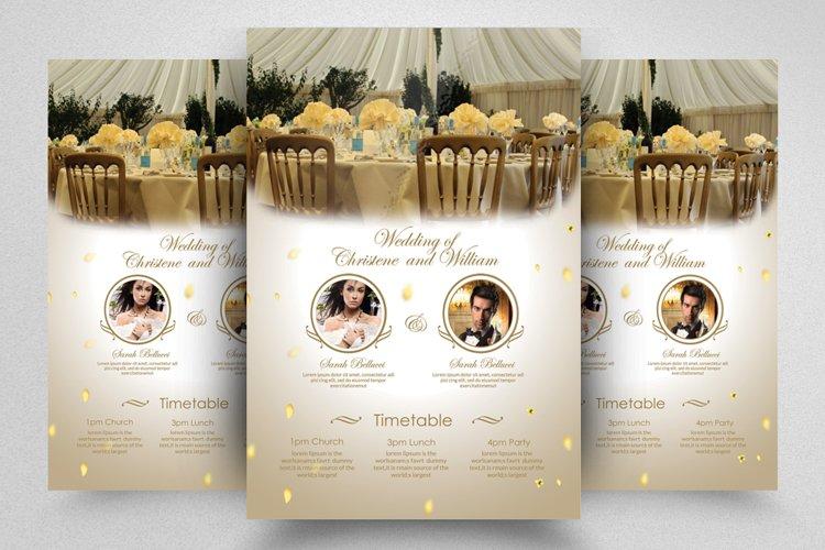 Wedding Planner Agency Flyer example image 1