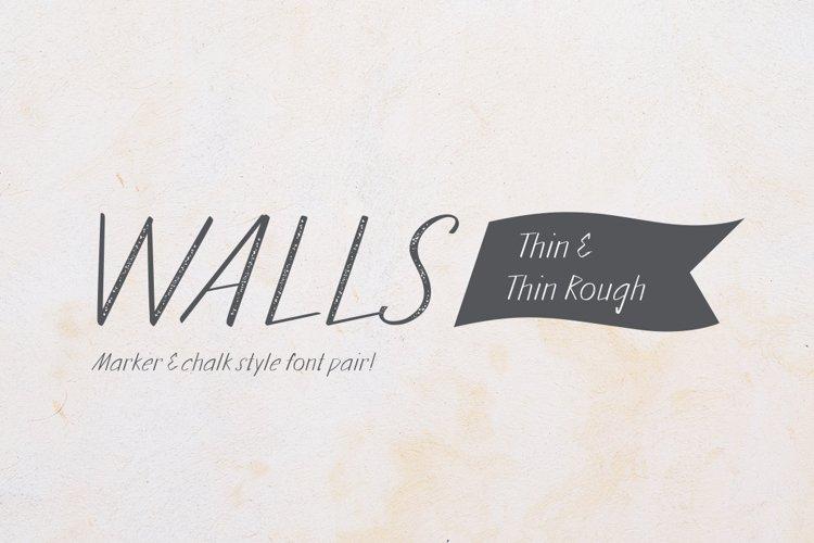 Walls Thin & Walls Rough Thin example image 1