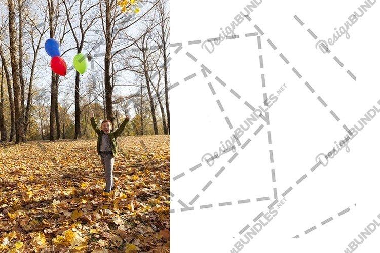 little boy enjoying and enjoying the autumn nature example image 1