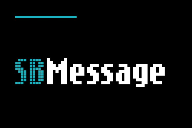 Message - Nokia Style LCD Font