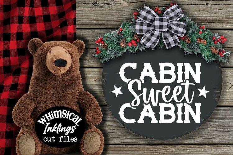 Cabin Sweet Cabin SVG