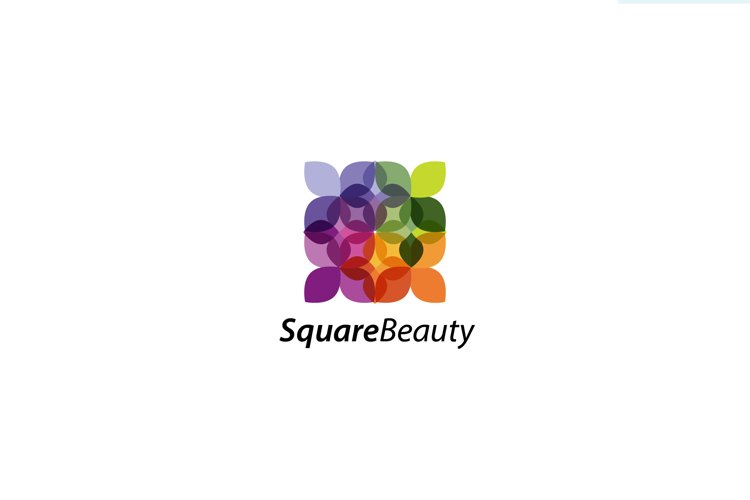 Square Beauty - Logo Template example image 1