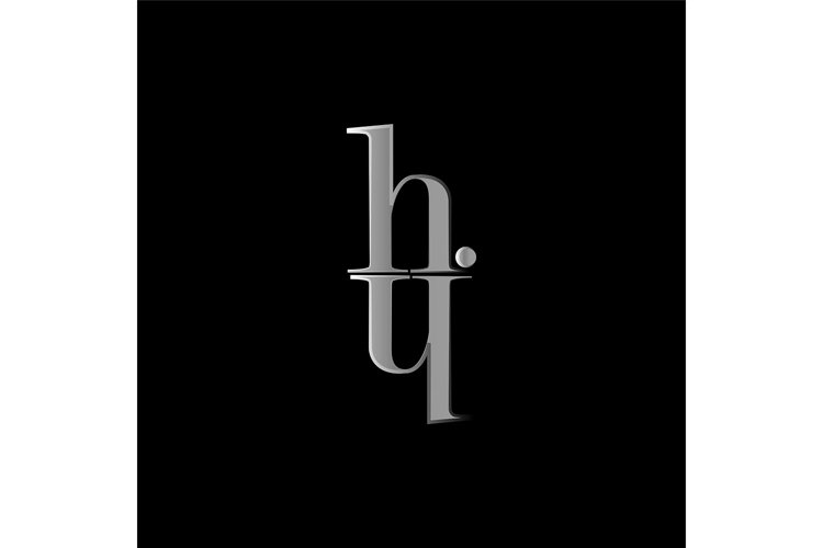 H Y letter logo template vector illustration graphic design example image 1