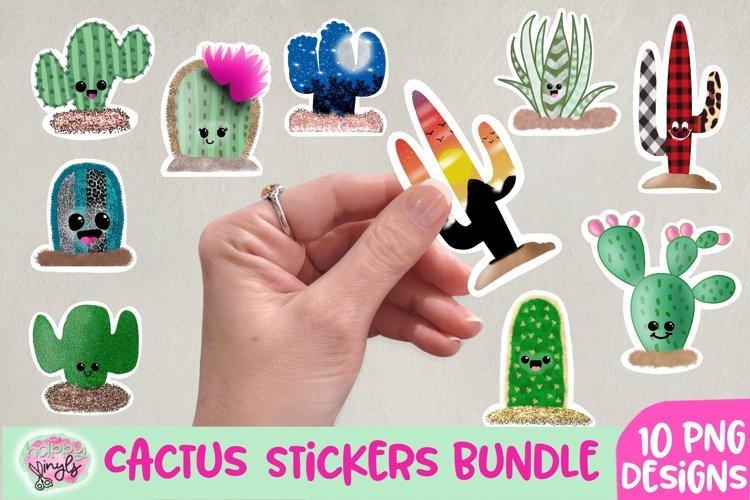 Cactus Stickers - A Sticker Bundle