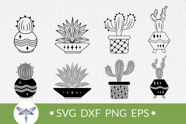 Cactus SVG Bundle for t-shirt design, Summer cactus clipart