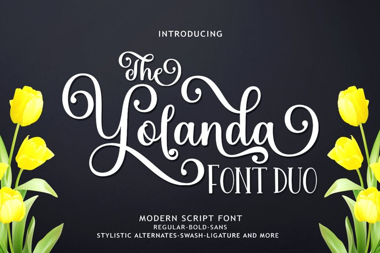 The Yolanda Font Duo