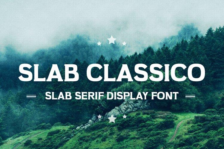 Slab Classico - Vintage Serif Slab example image 1