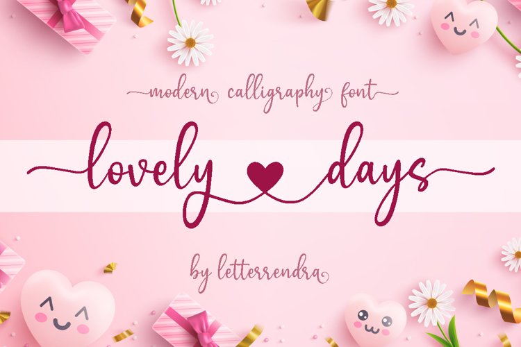 lovely days example image 1