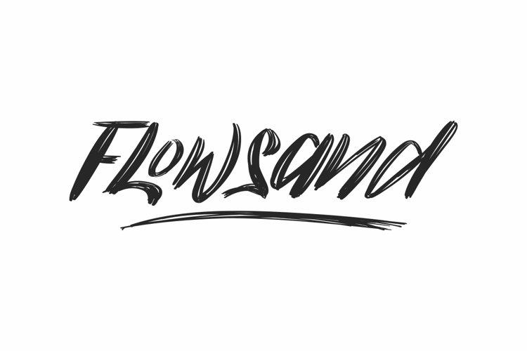Flowsand example image 1