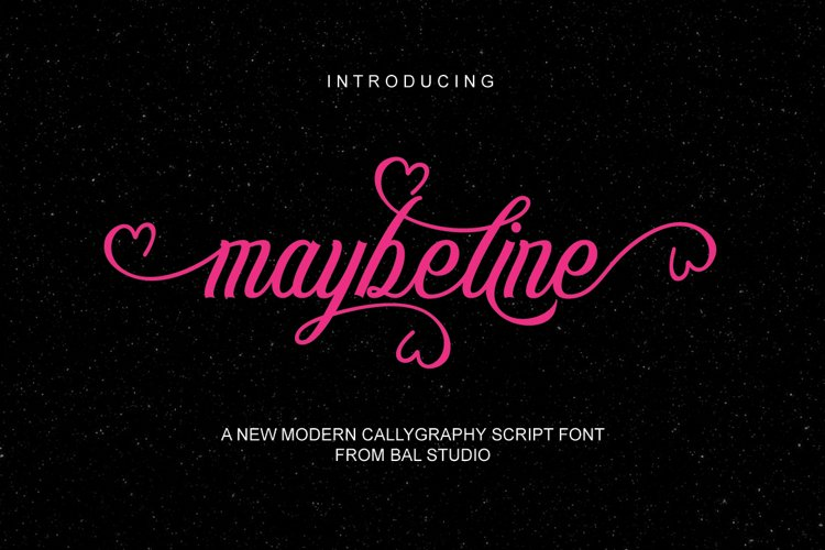maybeline example image 1