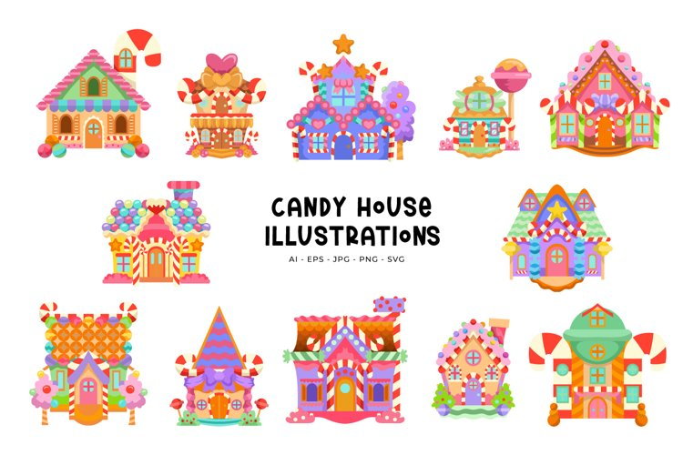 Candy House Illustrations